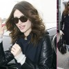 Emmy Rossum Jets Out of LAX for Home