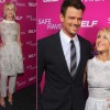 "Julianne Hough and Josh Duhamel: ""Safe Haven"" Premiere in the Big Apple"