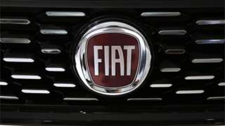Fiat front grill