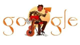 Google Doodle of Malaysia film legend P Ramlee